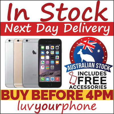 Apple iPhone 6 Unlocked 16GB 64GB 128GB Gold Silver Space Grey *Fastest Delivery