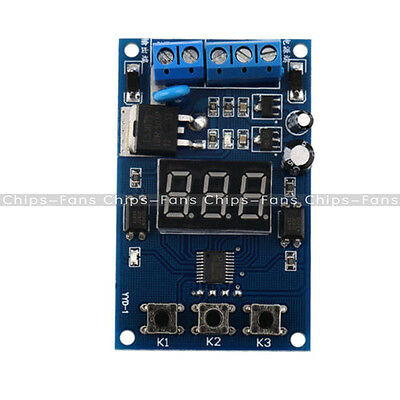 New Trigger Cycle Timer Delay Switch Circuit Control Board FET MOS Driver Module