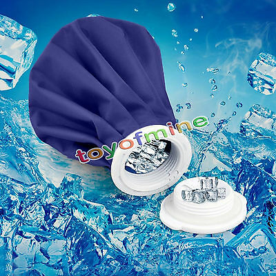 "11"" ICE BAG Pain Relief HEAT PACK Sport Injury REUSABLE First Aid Head Knee"