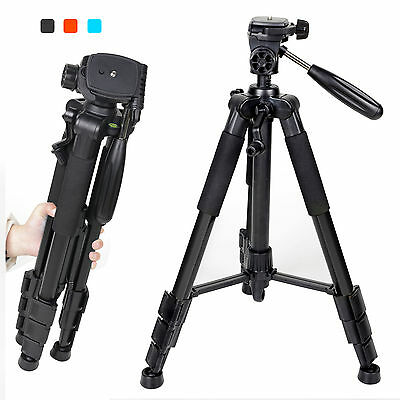 Zomei Q111 Professional Tripod Camera Stand with 3-way Pan Head for Digital DSLR