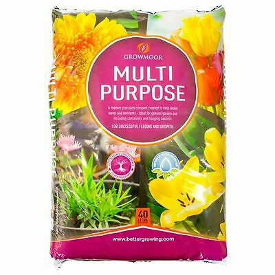 Multi Purpose Compost for Plant Feeding & Growth | 40L | General Garden Use