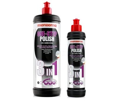 Menzerna One Step Polish 3 in 1 CUT GLOSS & WAX 1 Litre Bargain High Quality