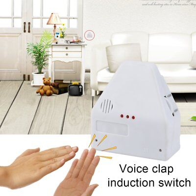 110V/220V Electronic Gadget Hand Light Switches Clapper Sound Activated FY