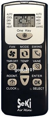 Replacement Universal Mini Teco A/C Air Conditioner Remote Control 4000 Codes