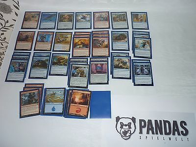 Magic the Gathering blau rotes Energy Deck