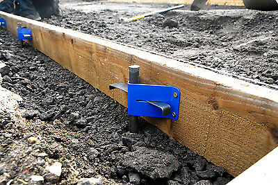 Concrete Base - Road Form Pan Brackets & Pins - Roadforms Shuttering
