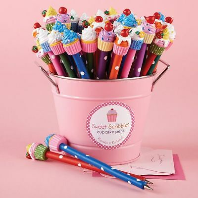 Sweet Scribbles Novelty Cupcake Pen Various Colours