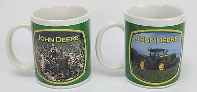 2 - John Deere Houston Harvest Licensed Product Collectible Ceramic Cup Mug