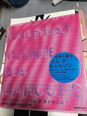 Unlimited: COMME des GARCONS book art fashion Rei Kawakubo photo