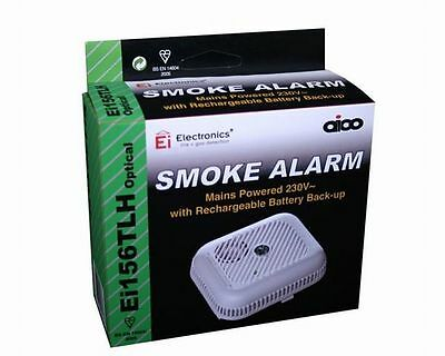 AICO Ei156TLH Ei Battery 230v Mains Lounge Landing OPTICAL SMOKE FIRE ALARM 2024
