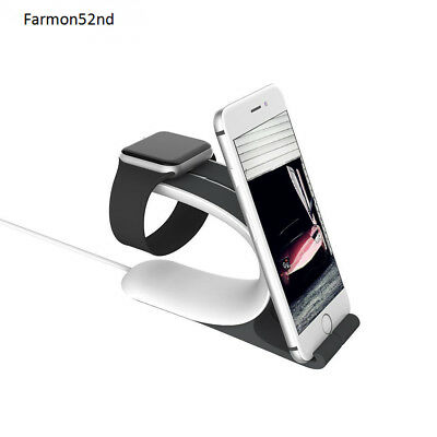 Apple Watch Stand 2-in-1 Smart Watch Charging Holder
