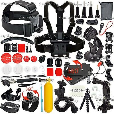 39-in-1 Outdoor Sport Camera Accessory Kit for GoPro Hero 4/3/2/1 & More