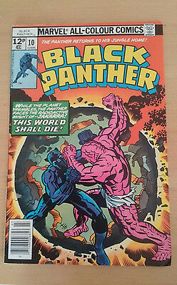 Marvel Comics Black Panther #10 July 1978 VF first print 'Bronze Age'