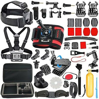 40-in-1 Outdoor Sport Camera Accessory Kit for GoPro Hero 4/3+/3/2/1 & More