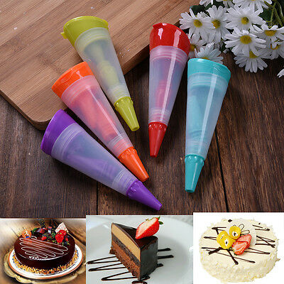 Decorative Tools Decorating Pens Silicone Baked Pastry Pen Baking Cake Cream DIY