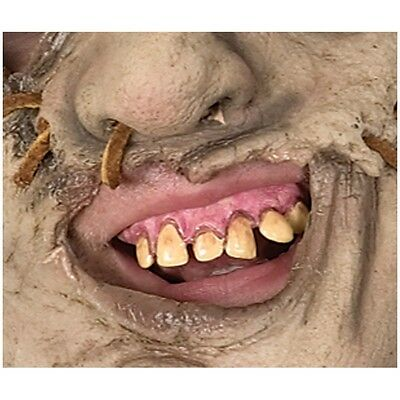 Leatherface Teeth Texas Chainsaw Massacre Adult Mens Ugly Costume Accessory
