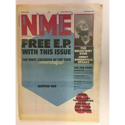 New Musical Express Nme Magazine  25 May 1985 Simply Red. Billy Bragg.     Ls