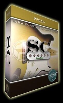 New Prominy SC Electric Guitar Kontakt Player included Virtual Mac PC VST AU AAX