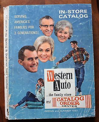 1967 Western Auto Spring and Summer Catalog