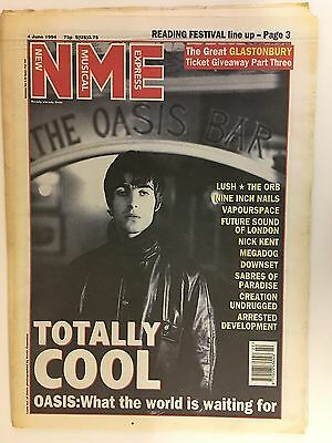 New Musical Express Nme Magazine  4 June 1994  Oasis    Ls