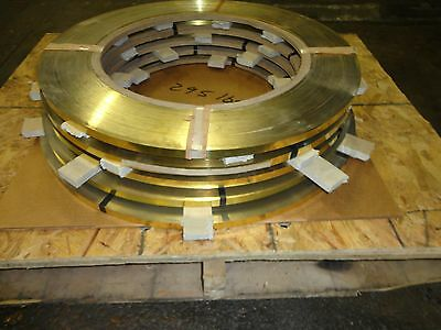 """Gold/brass Color Coated 5/8"""" Banding; (5 Rolls)"""