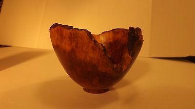 REDWOOD BURL BOWL 5 Inches