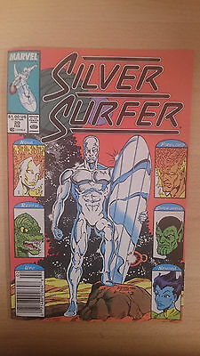 Marvel Comics Silver Surfer #20 February 1989 VF first print