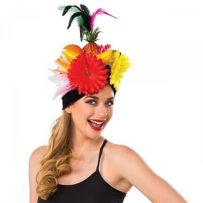 Tropical Fruit Hat Carmen Miranda Carnival Halloween Fancy Dress Costume Acsry
