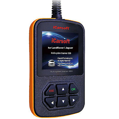 iCarsoft i930 OBD2 OBDII Diagnostic Tool Scanner ABS SRS For Land Rover / Jaguar
