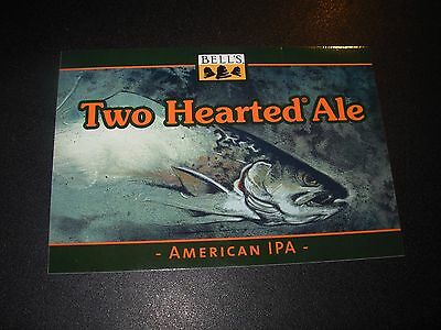 BELLS BREWING Updated TWO HEARTED ALE IPA LOGO STICKER decal craft beer brewery