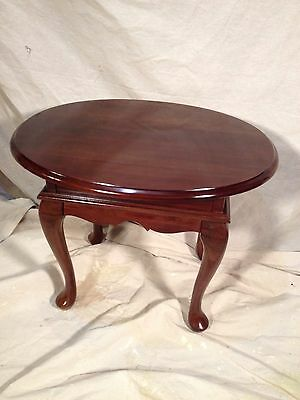Night Stand, Queen Anne solid Cherry  Not Antique, ships freight $59, MAKE OFFER