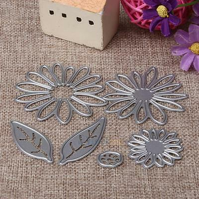 Flower Leaves Metal Cutting Dies Stencil Scrapbooking Card Paper Embossing Craft