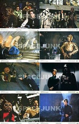 STAR WARS: RETURN OF THE JEDI Lobby Cards (Series 1) Complete Set of 8