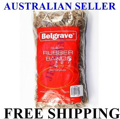Rubber Band 500G Bag many different sizes + FREE SHIPPING