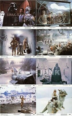 STAR WARS: THE EMPIRE STRIKES BACK Lobby Card Set (Series 1) 8 x 10 Inches