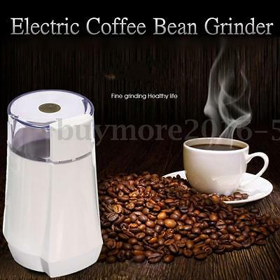 Electric Herbs/Spices/Nuts/Coffee Bean Grinder Grinding Machine Home Kitchen AU