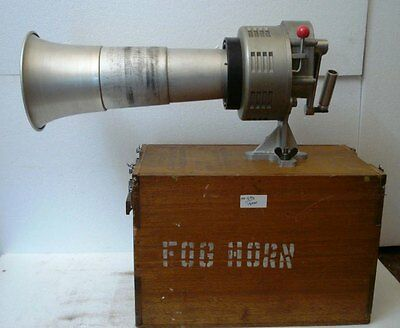 NAUTICAL FOG HORN - Sound Range 1.5 Mile Zone - Made in JAPAN - Hand Held