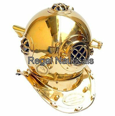 Brass 18'' Diving Divers Helmet