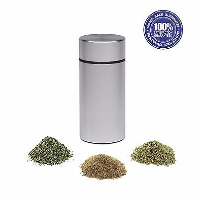 Stash Jar - New Aluminum Herb Stash Jar Airtight Smell Proof Container Weed Herb