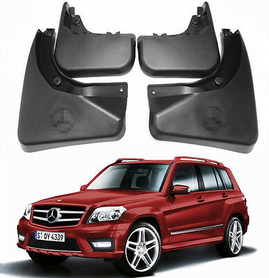OEM Splash Mud Guards Flaps FOR 08-2015 Mercedes Benz GLK X204 WO/Running Board