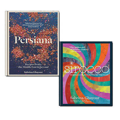 Sabrina Ghayour Collection 2 Books Set Pack Sirocco and Persiana Recipes NEW HB