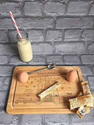 Egg Board Personalised Havea Wood Princess, Fairly Tale, Eggs, Soldiers