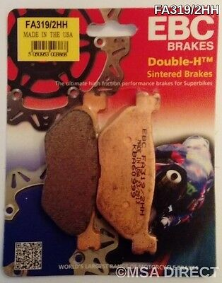 Yamaha XVS1300 (2007 to 2016) EBC Sintered REAR Brake Pads (FA319/2HH) (1 Set)