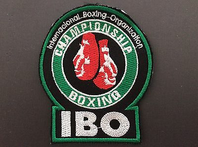 Patch Badge Ibo - International Boxing Organization - Boxe - World Champion