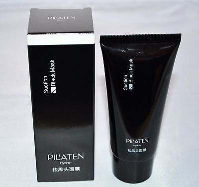 2 x PILATEN-60gr-TUBE- BLACK-HEAD-GESICHTSMASKE-PEEL-OFF-KILLER-MASKE- AKNE