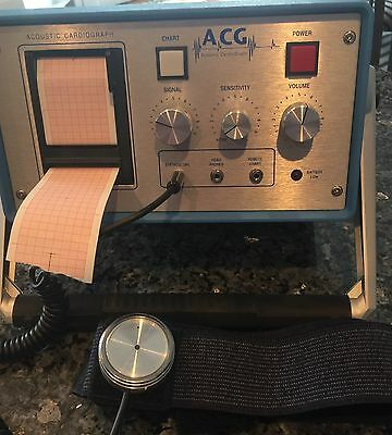 Acoustic Cardiograph Heart Sound Recorder - Model LF100B - Paid $4,700