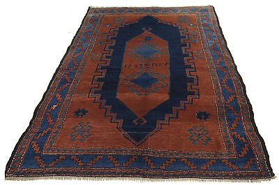 190x127 CM ANIQUE Shirwan Russo Tappeto Carpet Tapis Teppich Alfombra Rug Hand M