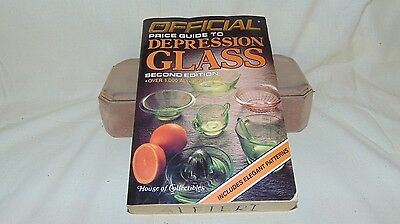 1986 The Official Price Guide To Depression Glass Second Edition