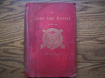 In Camp and Battle with the Washington Artillery of New Orleans - 1st Edition