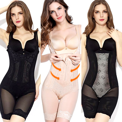 23103e617230c Ladies Full Body Waist Shaper Corset for Women All in One Bodysuit Firm  Control